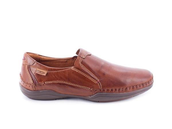 Zapato Pikolinos De Piel Marrón M1D-6028