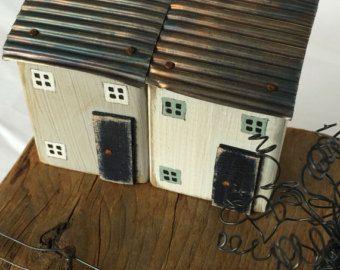 Art en bois flotté maison bois flotté Art côtières par TildysRoom