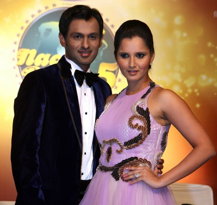 Indian Tennis Star Sania Mirza & Pakistani cricketer (and former captain) Shoaib Malik have made headlines for their controversial marriage, and recent divorce rumors, but are still going strong. They have been contestants on the Indian dance reality show Nach Baliye 5 in 2013. Mirza also recently did some modelling for prominent Indian fashion designer Ritu Pande.