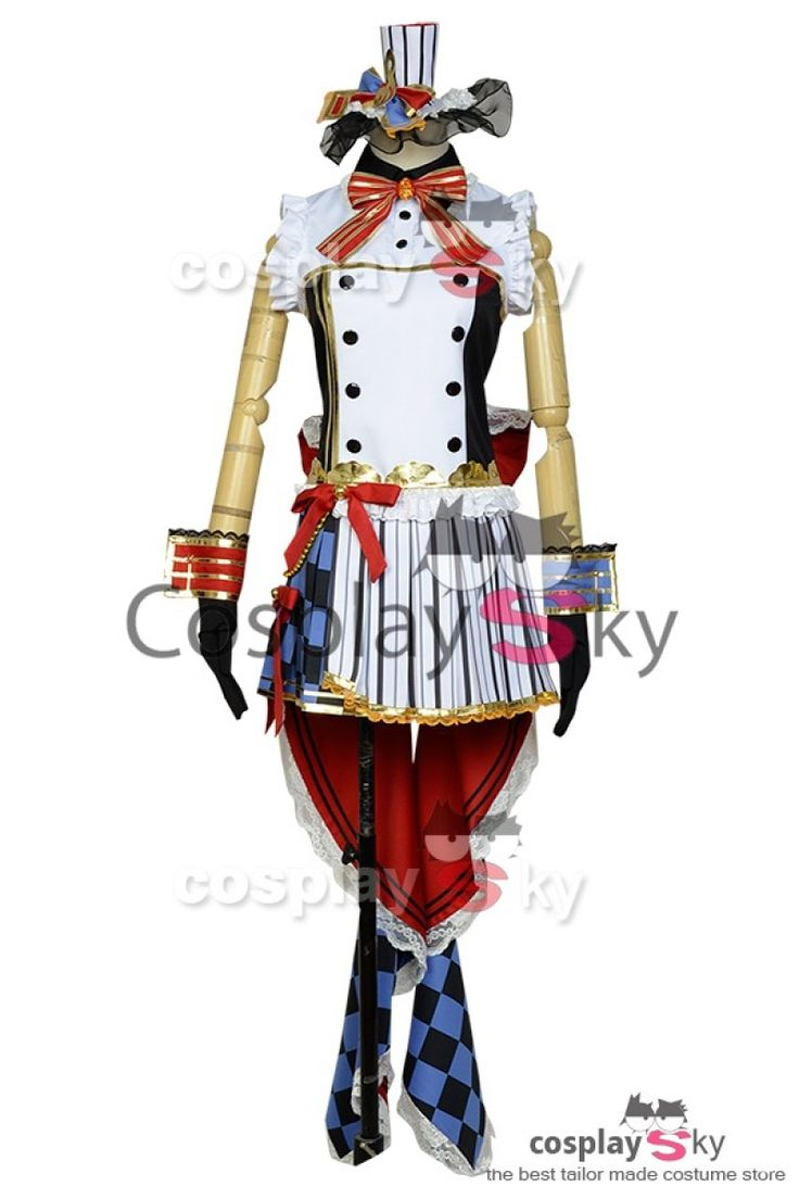 LoveLive! Nico Yazawa Servante De Café Uniforme Cosplay Costume_1