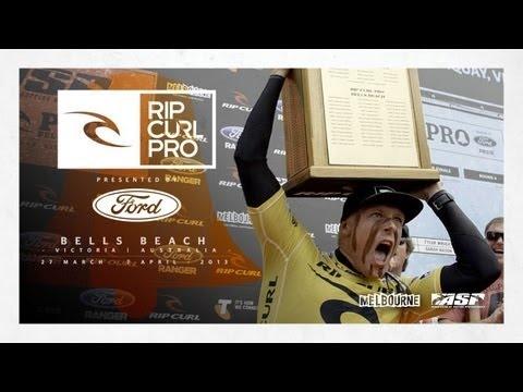 Men's Bell Ringing Frenzy - Rip Curl Pro Bells Beach 2013