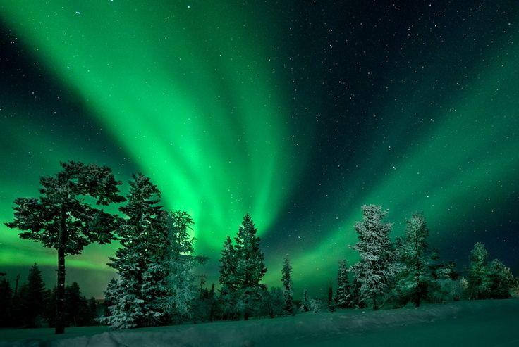 Északi fény Foto: Jani Uljas
