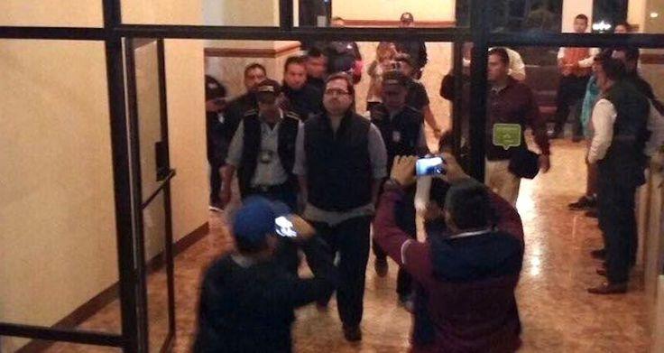 PGR detiene en Guatemala a exgobernador Javier Duarte