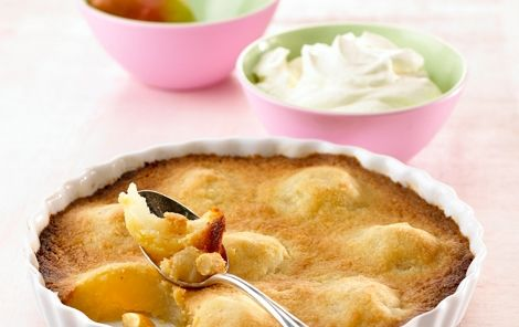 Pæretærte med smuldredej