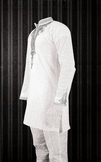 Nigeria Ankara Fashion Styles:Cute Embroidered Native Design For Men