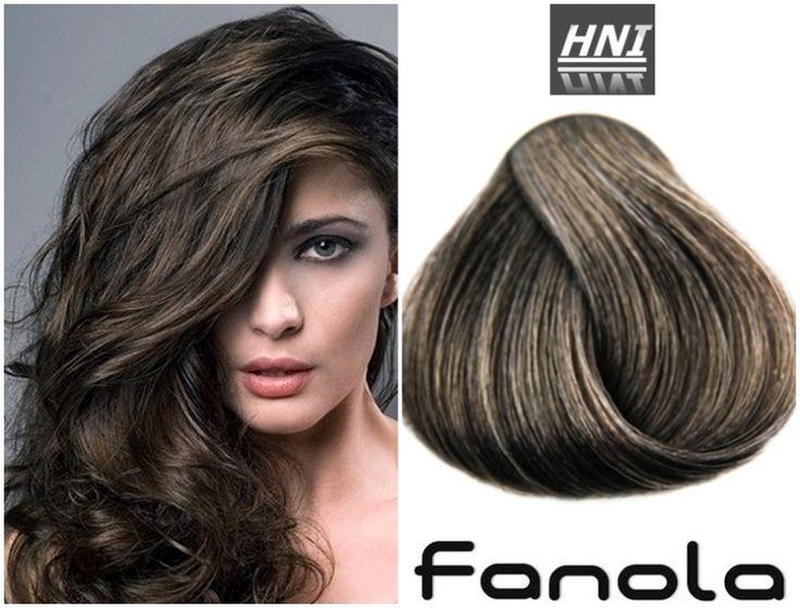 Hni Fanola 6 11 Dark Blonde Intense Ash Hair Pinterest