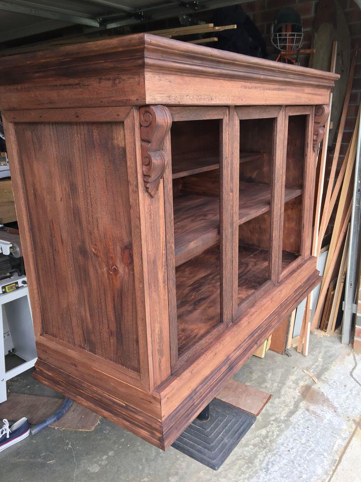 Custom made 3 drawer 3 doored book case