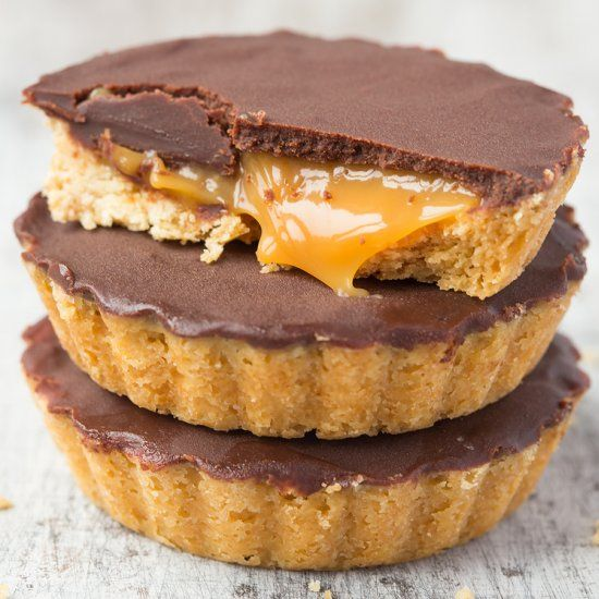 Grownup mini millionaires shortbread, the ultimate sweet treat.