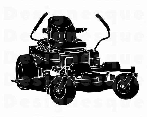 Zero Turn Lawn Mower Svg Lawn Mower Svg Landscaping Svg Etsy Zero Turn Lawn Mowers Digital Scrapbooking Clipart Lawn Mower