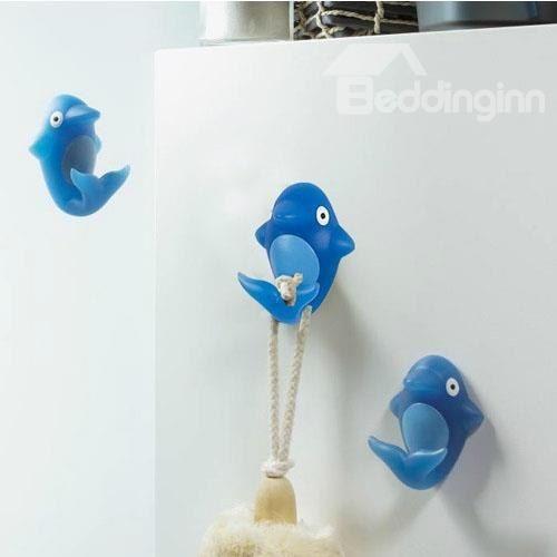 New Arrival Cute Cartoon Dolphin Design  Bathroom Hook