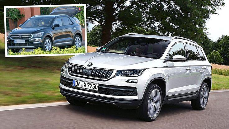 VW T-Roc und Skoda Karoq - Diese SUVs rocken!