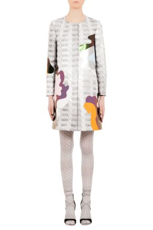 Pf16 ac006 701 silver framis a line coat front 1