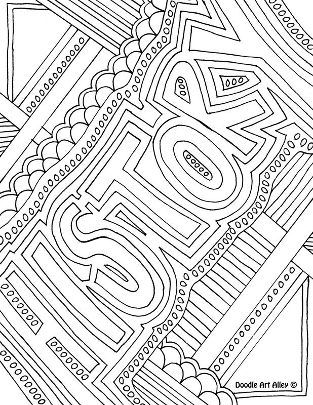 Enjoy some school subject coloring pages.  These are great to use as binder…