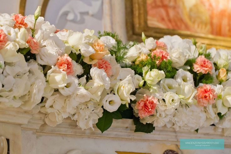 Floral arrangement by Michela & Michela www.italianweddingcompany.com