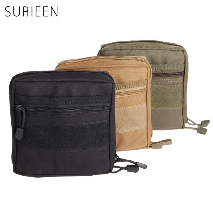 SURIEEN MOLLE Military Pouch Tactical 1000D Emergency Medical Kits Outdoor First Aid Survival Bag Multi EDC Gadget Pouch Pocket(China (Mainland))