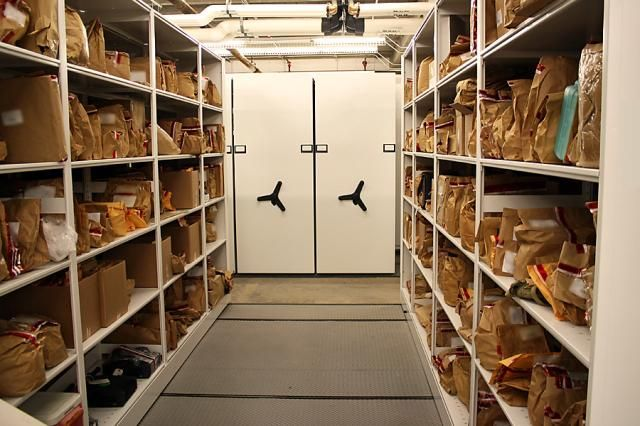 Police Department Long Term Evidence Storage Spacesaver