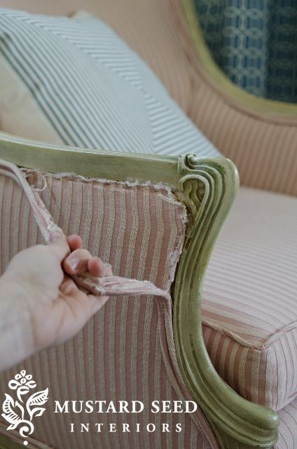 Tools and tips for stripping upholstered pieces...