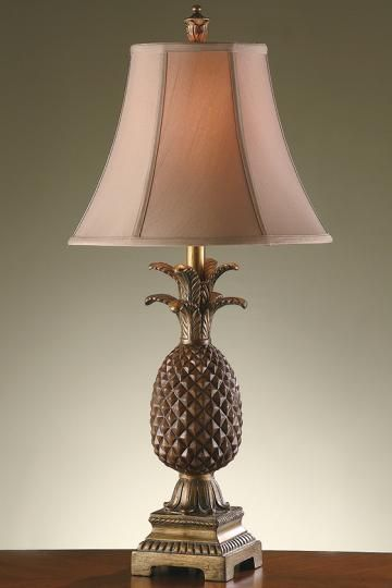 Pineapple Table Lamp - Pineapple Lamp - Tropical Table Lamps - Traditional Table Lamps | HomeDecorators.com