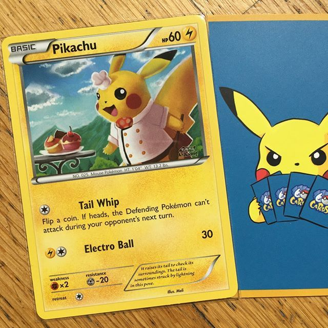 Pikachu of the day! This one is little more expensive.  #pikachu #playpokemon #ポケモン #Pokemon #PokemonTCG #tcg  #pokemoncards #pokemongo #pokemonmaster #nintendo  #pokemontcgo #PTCGO  #pokemoncommunity #pokelover  #pokemonart  #play #trading #card #game #pokemontrainer #pokemongame #teamrocket #pokedex #rare #gottacatchemall #pokemonrare #pokefan #pokeart  #pokemaniac #ashketchum
