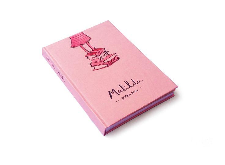 Matilda  Roald Dahl  Book cover design by Macarena Valdes