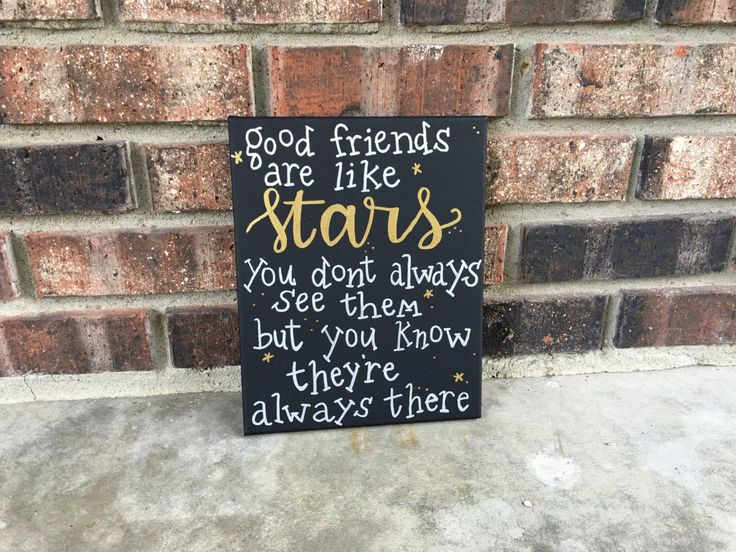 Best friend gift- gift for best friend- best friend quote/ saying/ canvashttps://www.etsy.com/listing/459454786/gift-for-friend-best-friend-gift-quotes