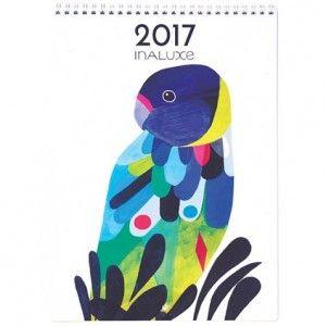 Earth Greetings Inaluxe 2017 Calendar