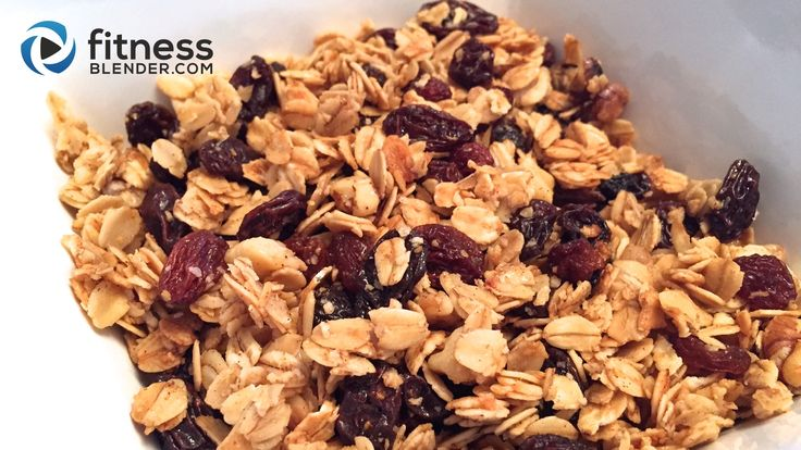 Oatmeal Cookie Granola – Healthy Granola Recipe | Fitness Blender