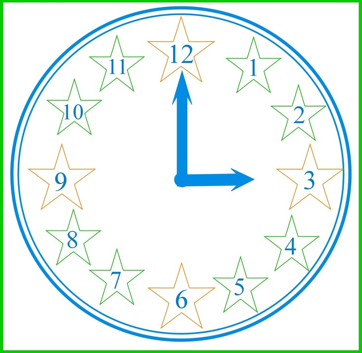 Aprendizaje Divertido: Imprimible: Aprender a leer el reloj