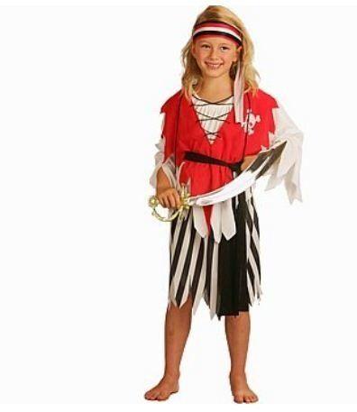 Piratenpak voor meisjes #piraat #pratenpak #piratenkostuum