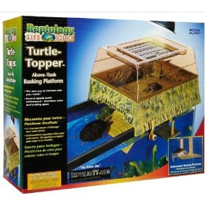 Reptology® Turtle Topper® Above-Tank Basking Platform & Dock. Reptology® Turtle Topper® Above Tank Basking Platforms provide your pet with a healthier, more spacious aquatic environment while giving you a new way to interact with your pet. Sculpted in a Jurassic style, the Turtle Topper® is designed to sit over your existing tank giving your pet a more natural environment and allowing you to use your entire tank for water. The deeper water eliminates most filtration restrictions giving your…