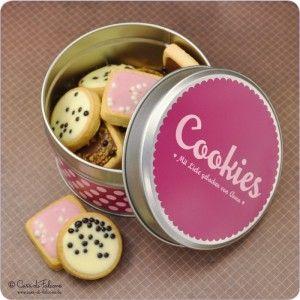 Cookie packaging.