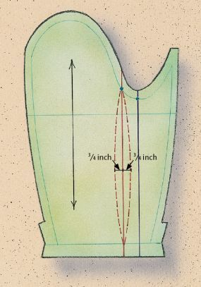 How to Draft a Two-Piece Jacket Sleeve From a One-Piece Pattern - Threads
