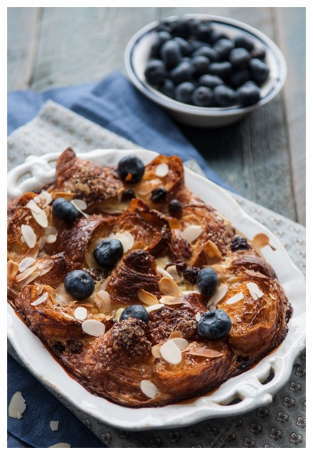 Cadeaux Sucrés - Gratin of Croisic with blueberries - the cuisine of ...