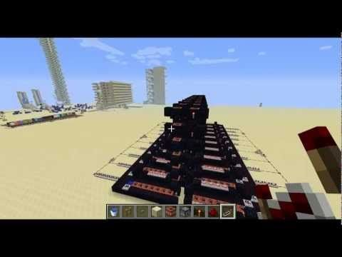 Cañones Avanzados de TNT y Fuegos Artificiales - Minecraft - Tutorial - YouTube