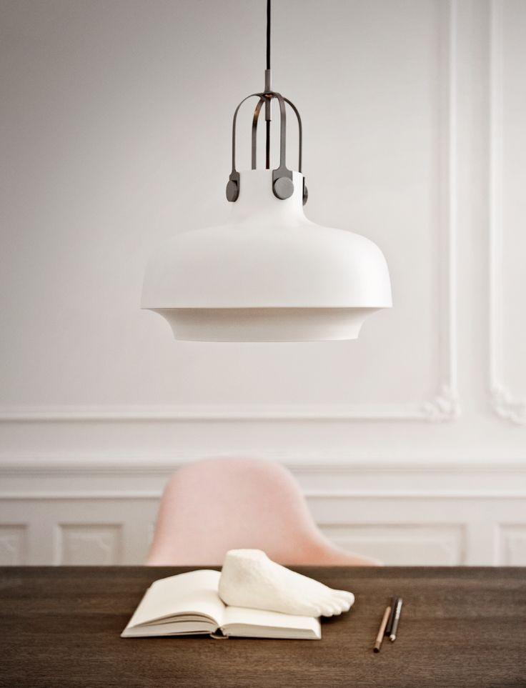 Danish lighting brand &tradition has collaborated with design studio space copenhagen to develop 'the copenhagen pendant'