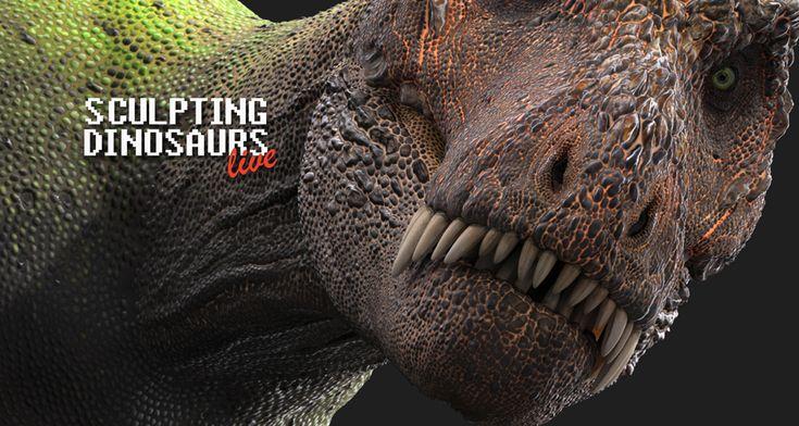 Sculpting Dinosaurs by damir-g-martin.deviantart.com on @DeviantArt