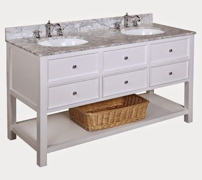 pottery barn vanity replica