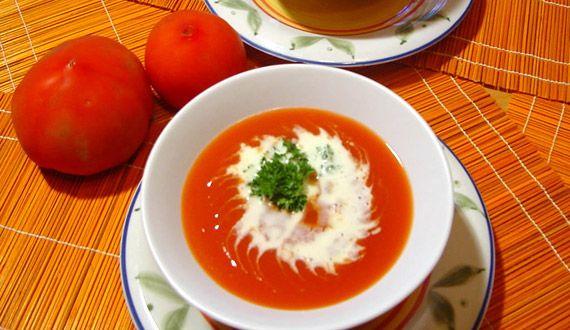Crema de tomate.