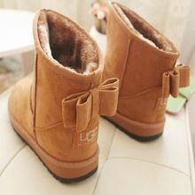Sapatos de Mulher Botas de inverno 2017 Botas Ugs Austrália Mulheres Sapatos Rasos Mulheres Ugs Curto Tornozelo Botas Australianas Senhora Chaussure Femme alishoppbrasil