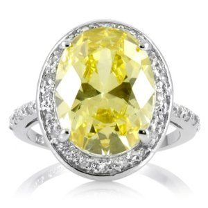 canary diamond ring... Maybe for our 20th wedding anniversary.... ;)