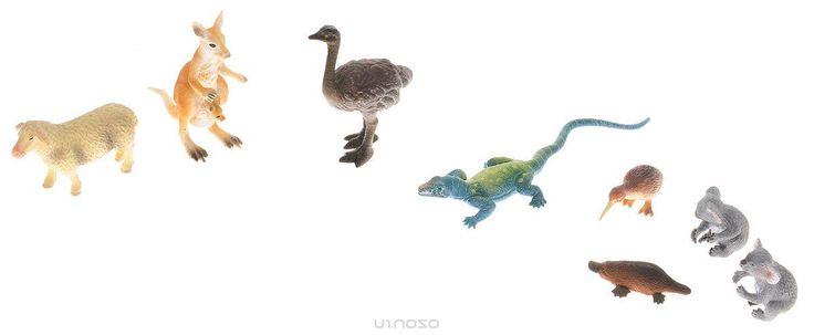 Wenno Набор фигурок Животные Австралии 8 шт