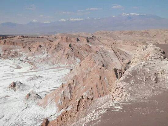 Amazing views at Valle de la luna - Chile '13