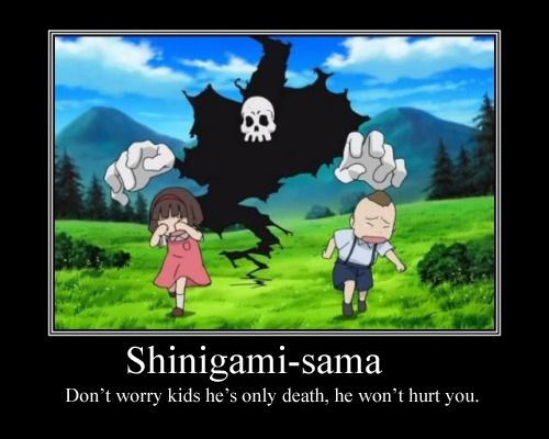 Shinigami-sama Motivational Poster by ~Queen-ofthe-Pirates on deviantART