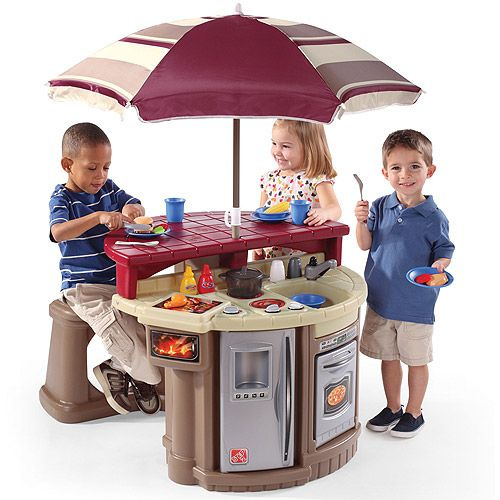 Kids Cafe Furniture: The Kids Would LOVE This!!!! Step2 Cafe Play Set, Grill