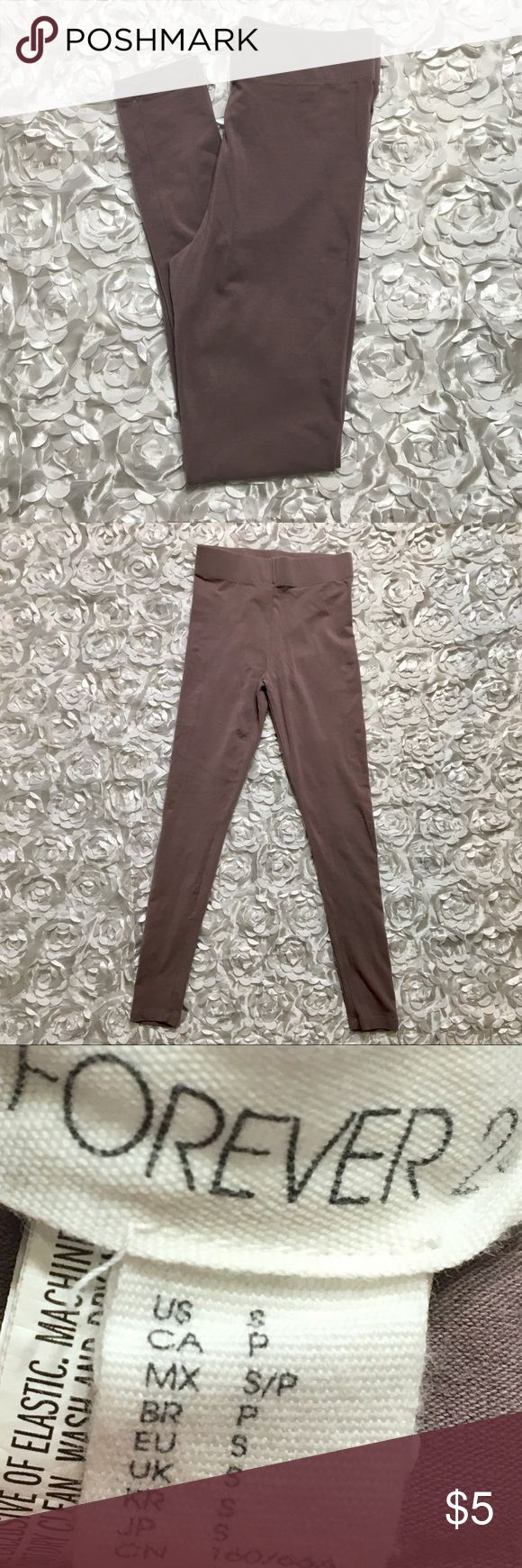 Forever 21 Nude Leggings NWOT!! Forever 21 Nude Leggings. Super soft and comfortable. Dress up or down. Women's size S. Make an offer or bundle and save! Forever 21 Pants Leggings