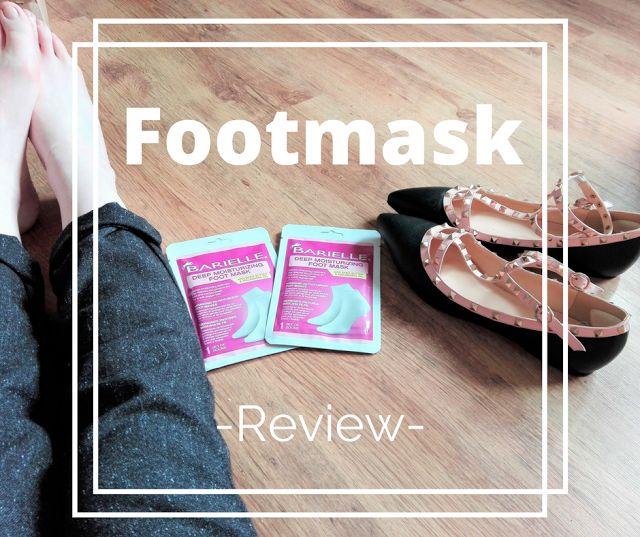 schöne Füße für den sommer barielle footmask Review Beauty hacks