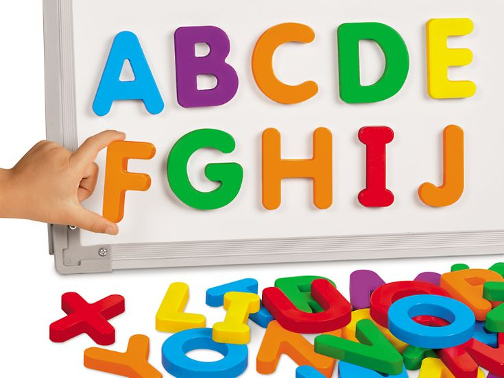 Giant Magnetic Letters - Uppercase