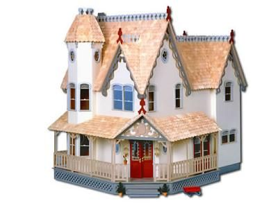 I miss the dollhouse that my uncle made for me. I've always wanted a dollhouse as an adult. I found this neat dollhouse on a site that sell dollhouses and accessories in Toronto!! And it's called 'Pierce', that's my mom's maiden name!