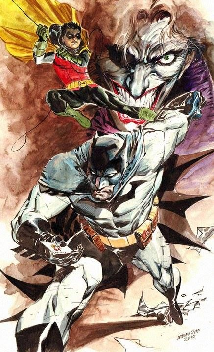 Batman, Robin, and The Joker by Ardian Syaf *