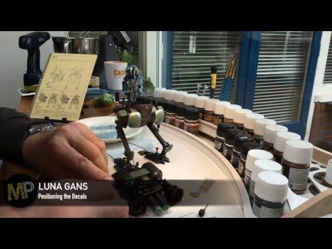 Building the Ma.k LUNA GANS part 17 [decals] - YouTube